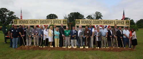 Monroe County Justice Center Groundbreaking